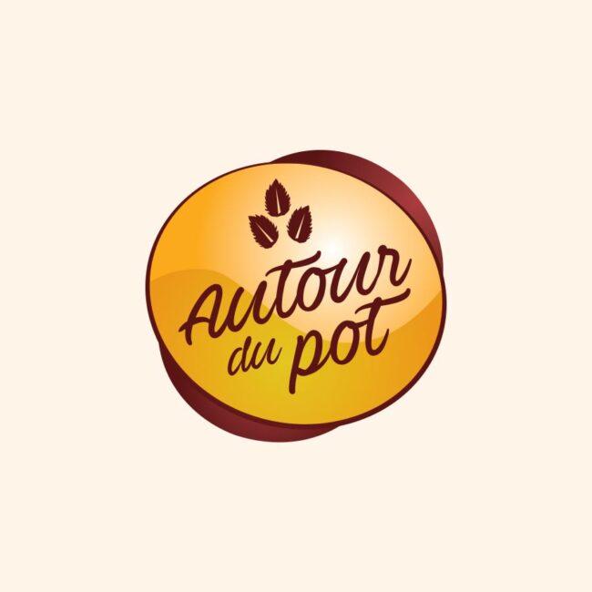 Autour du pot confitures logo